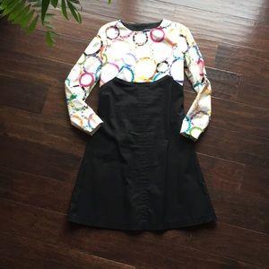 Custom made vintage style Aline shift dress Sz Sm